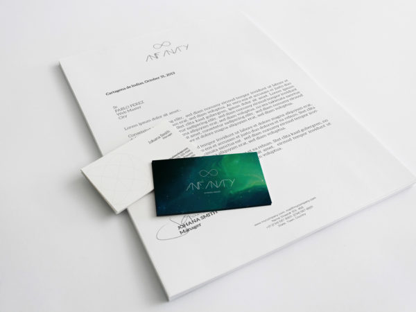 A4 Letterhead and Business Cards