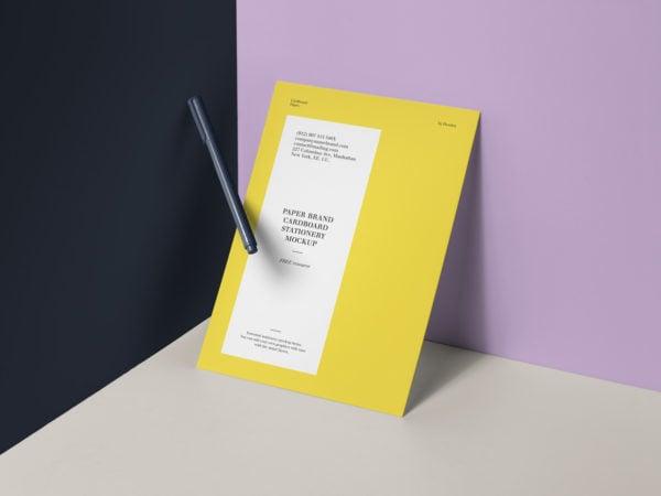 Brand Paper Mockup