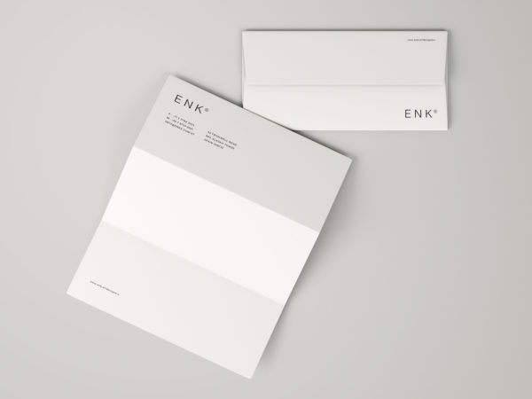 Envelope and Letterhead Mockup
