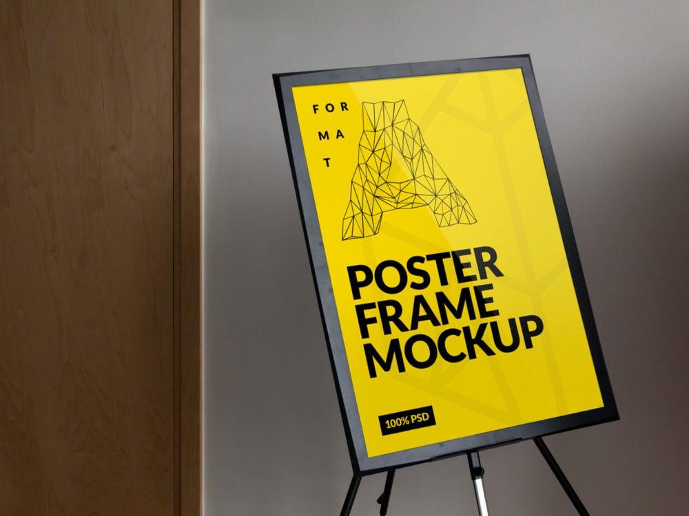 Frame Poster Free Mockup