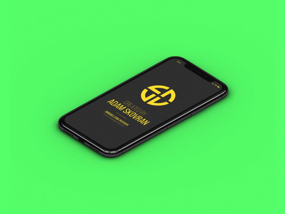 Free Apple iPhone X MockUps