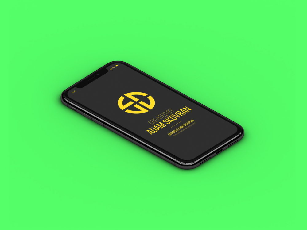 Free Apple iPhone X MockUps