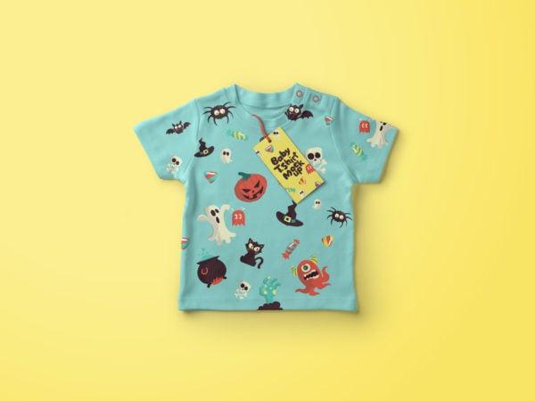 Free Baby T-Shirt Mockup