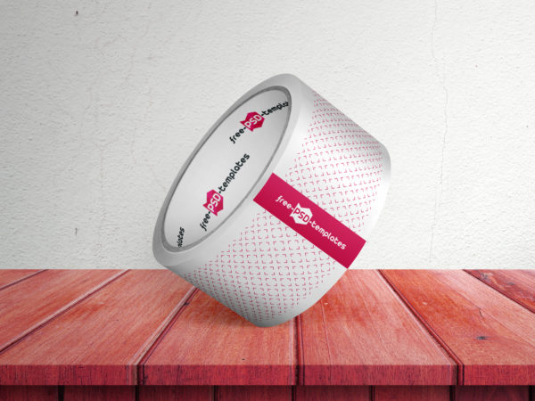 Free Duct Tape PSD Mock-Up