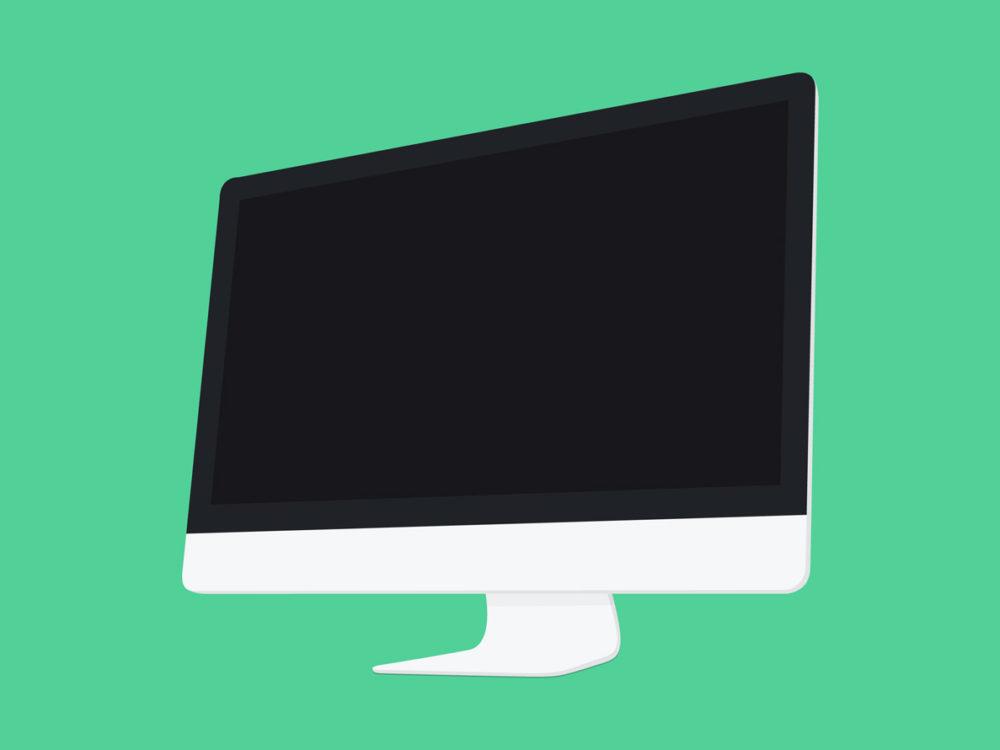 Free Flat Apple Devices Mockup