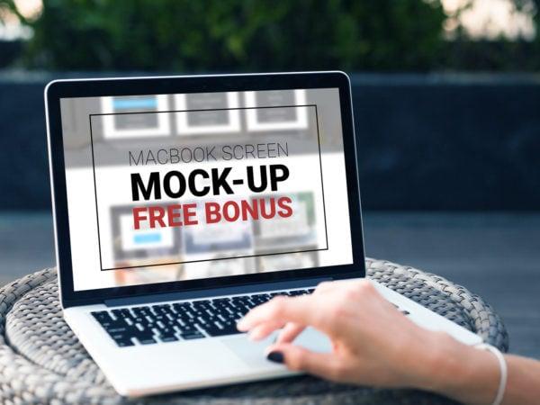 Free MacBook Pro Mock-Up