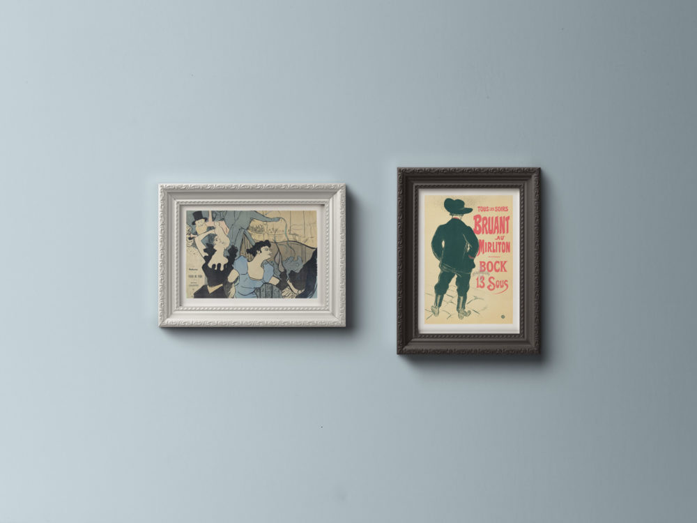 Free Ornamental Frame Mockup