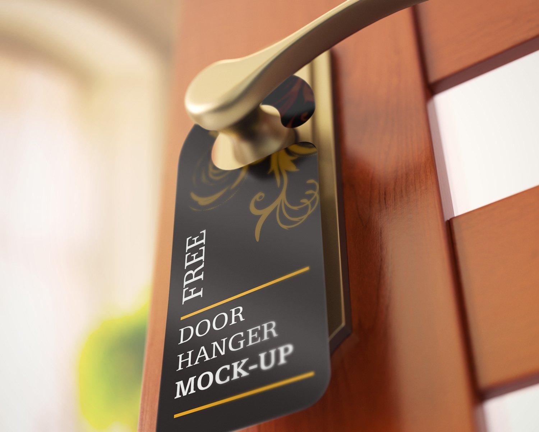 Hanger at the door