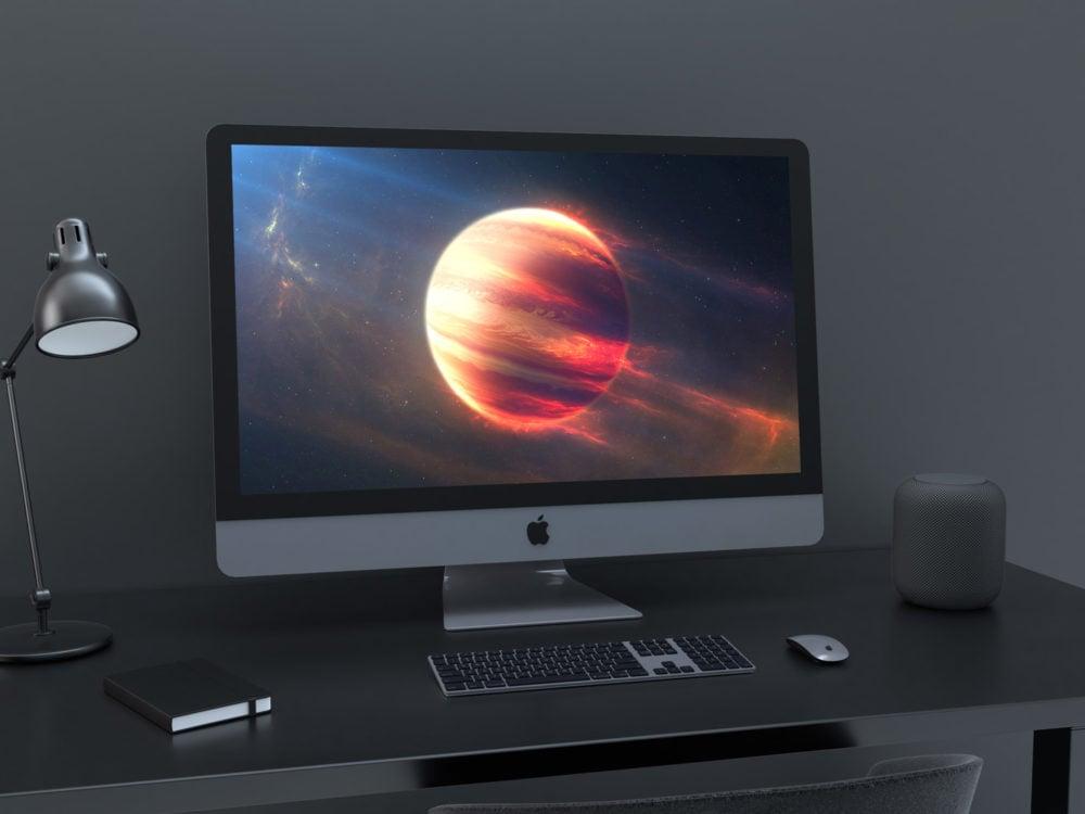 Free iMac Pro Mockup