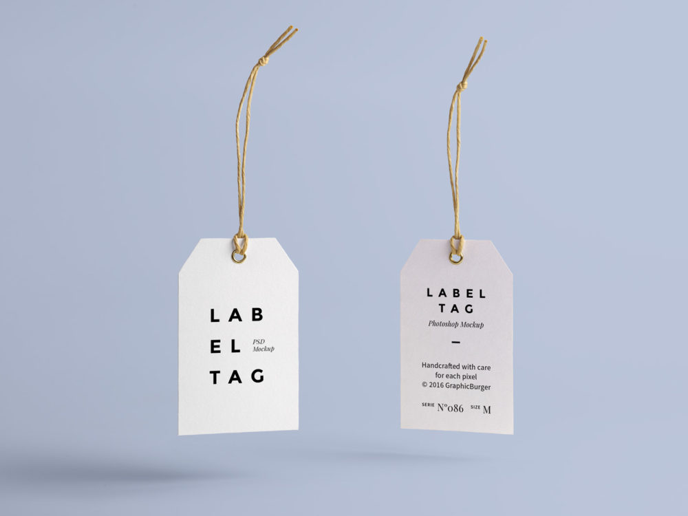 Label Tag Free Mock Up