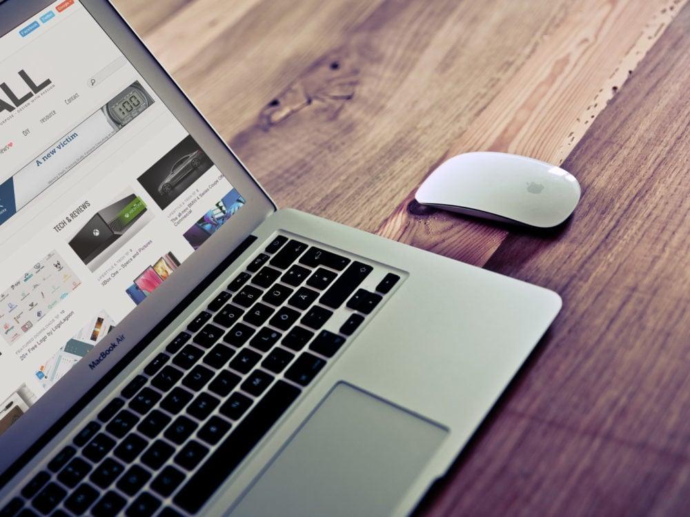 MacBook Air Mockup Free Mockup