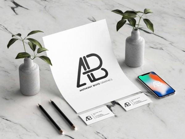 Modern Branding Identity Mockup