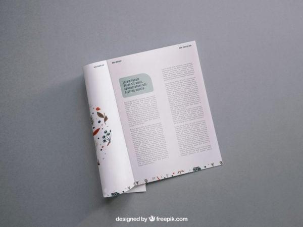 Modern Magazine Mockup