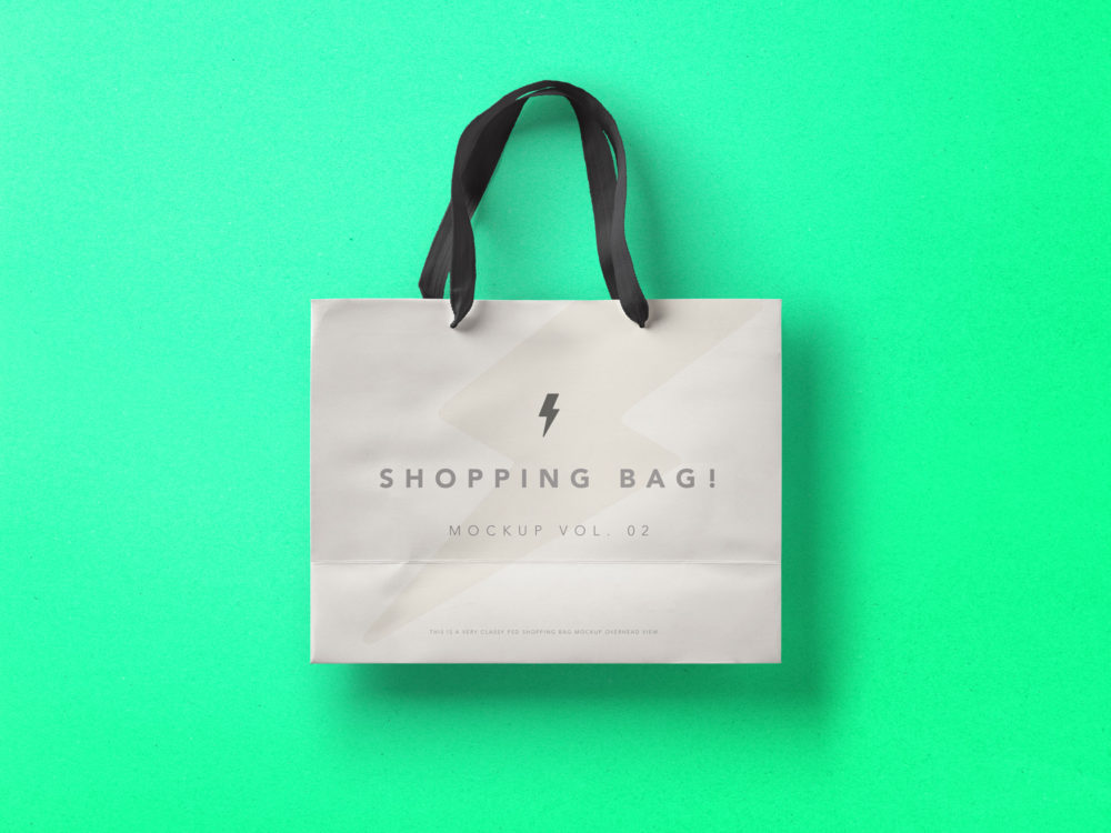 Shopping Bag Free Mockup