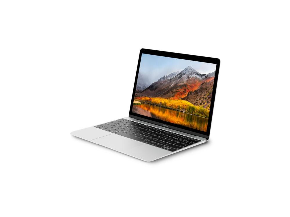 Silver MacBook Mockup