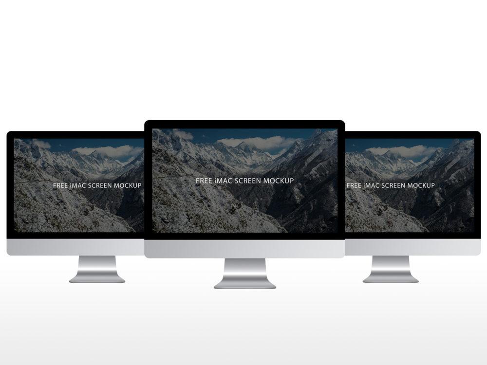 iMac Screen 5k Mockup