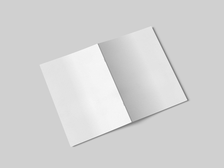 Мокапы открыток а5