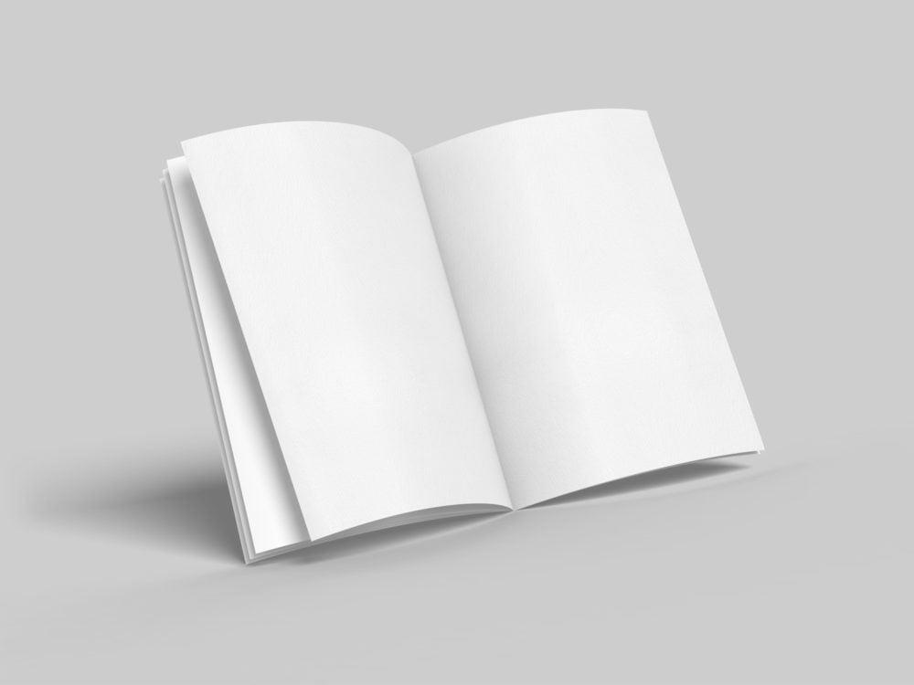 A4 Brochure Mockup Set