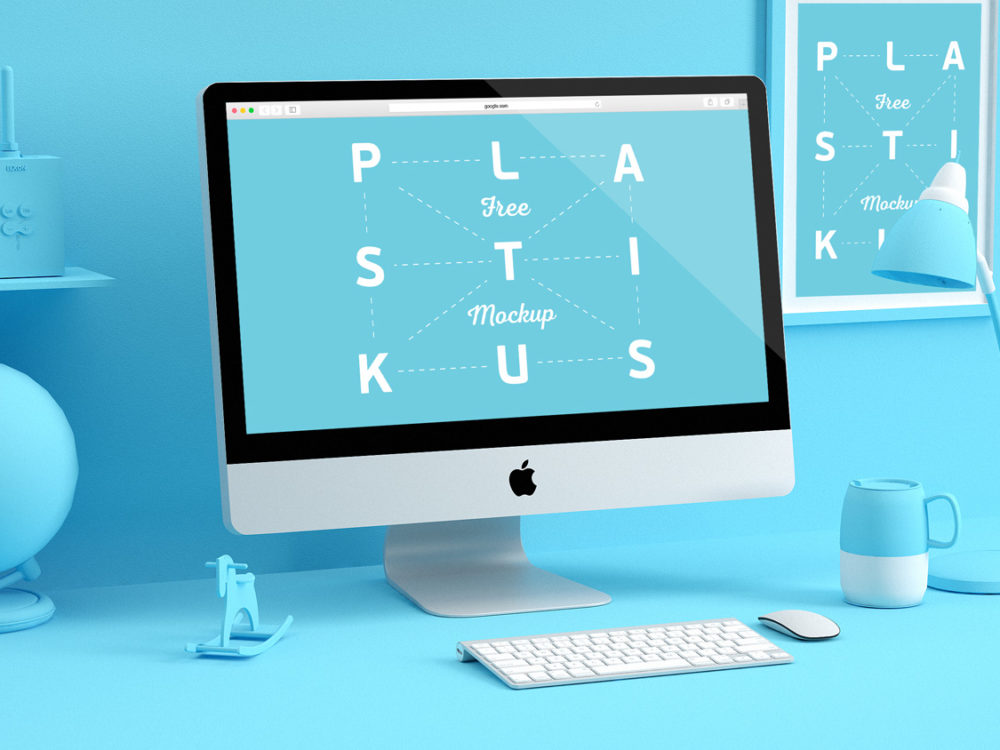 Apple Devices Mockups Free PSD Template