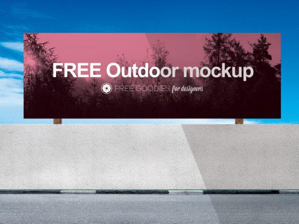 Billboard Free Mockup PSD