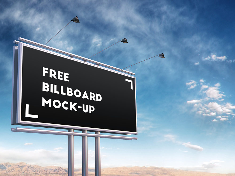 Billboard Mock-Up Free