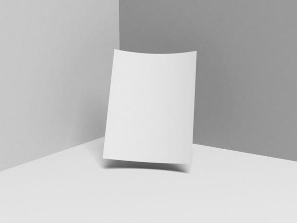 Branding Letterhead Mockup Free PSD Template