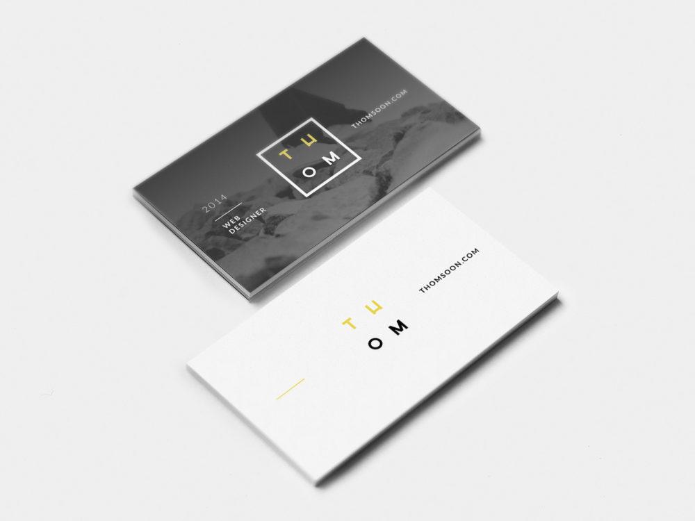 Business Card Free Mockup PSD