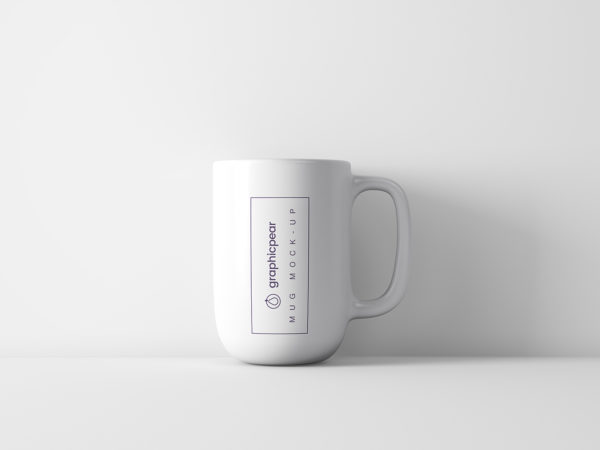 Enameled Coffee Cup Mockup