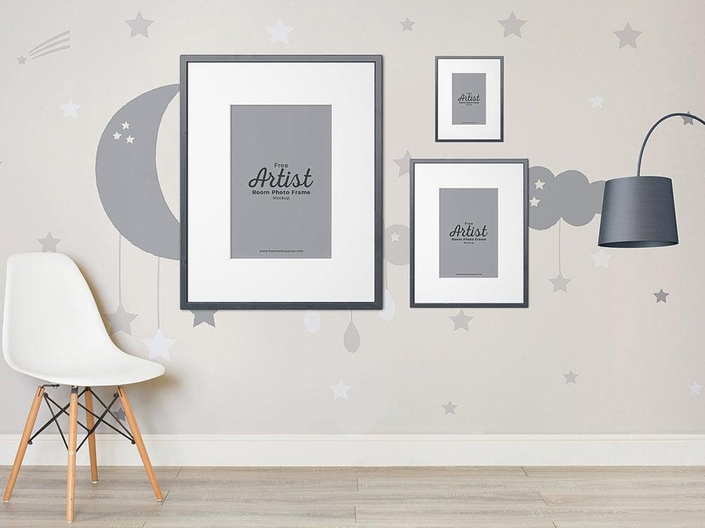 Artist Room Frame Mockup