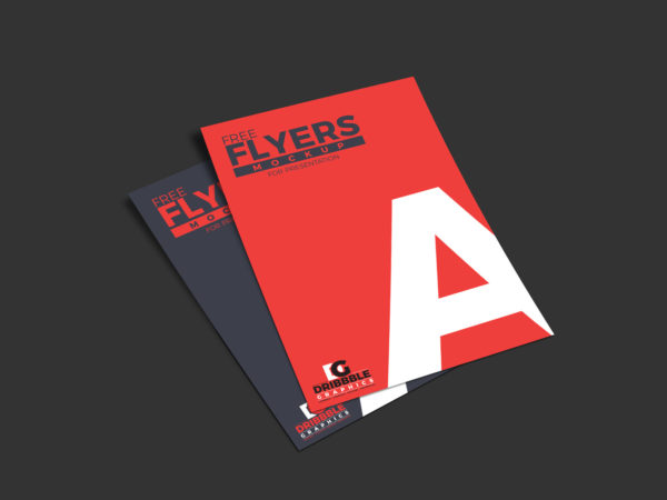 Free Flyers Mockup For Presentation