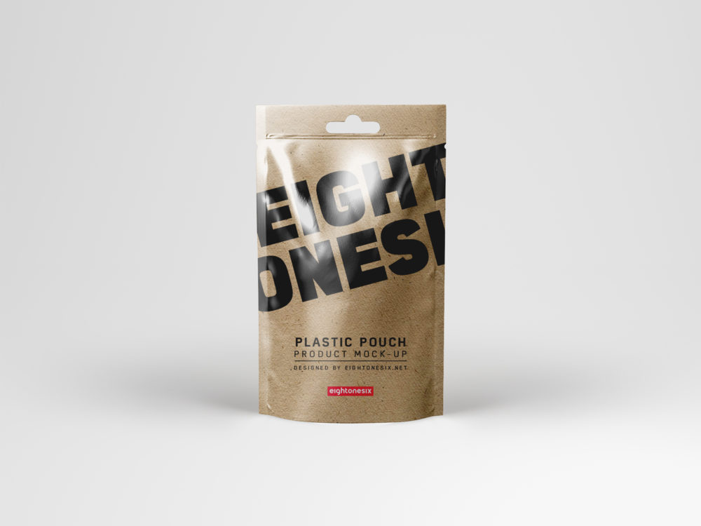 Plastic Pouch Mock-Up