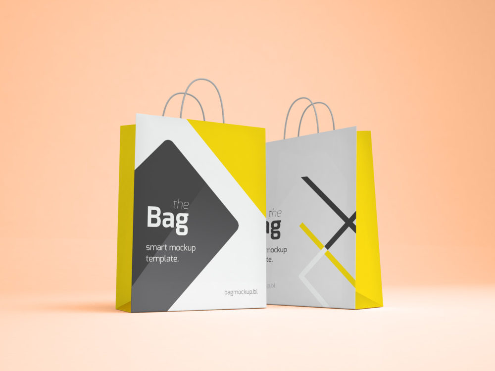 Shopping Bag Mockup Free Mockup