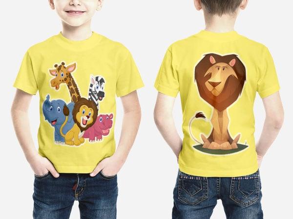 Kids T-Shirt Mockups Free