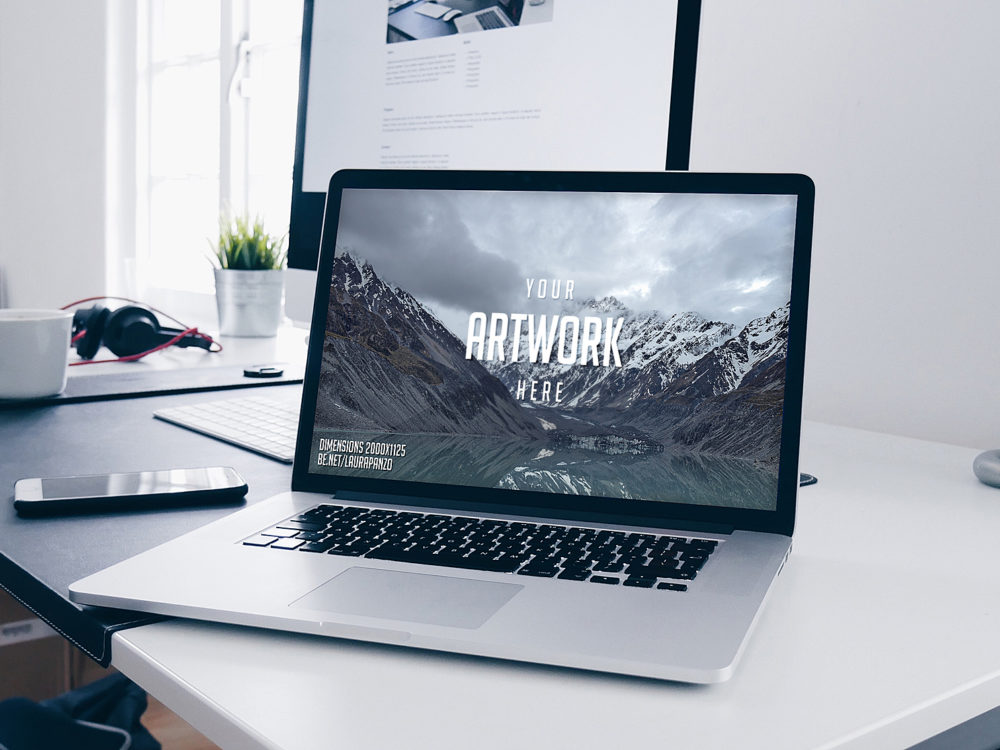MacBook Mockup Free