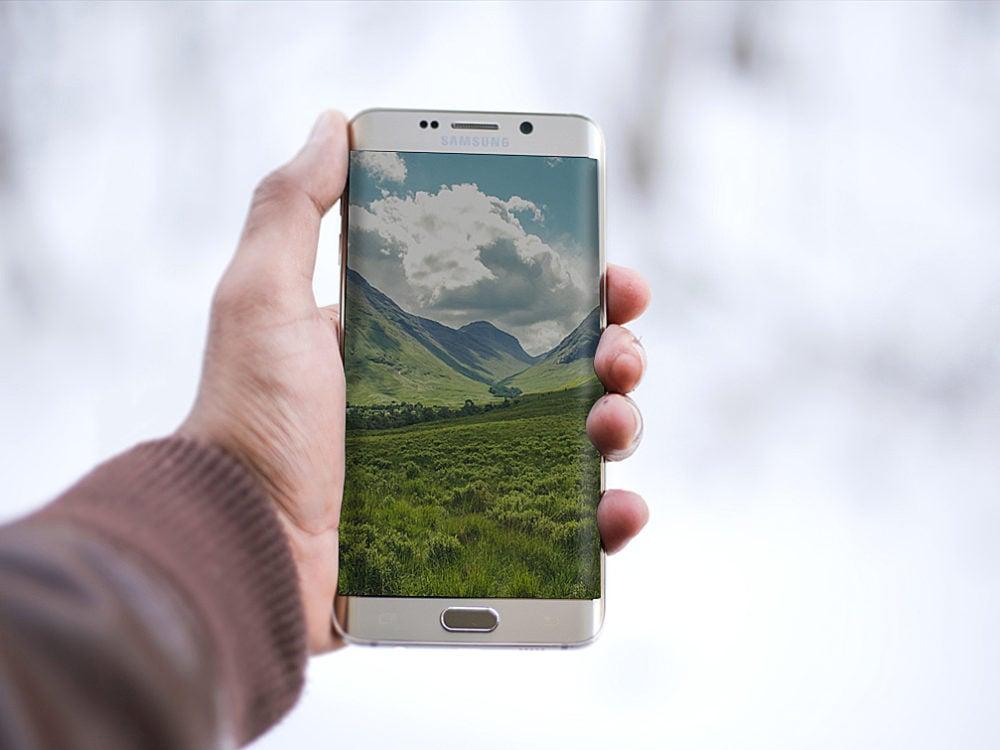 Samsung Phone Mockup