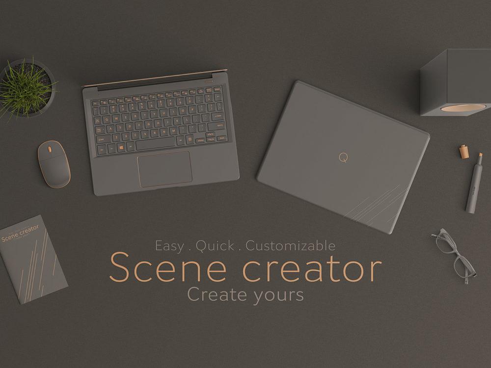 Scene Creator Mockup