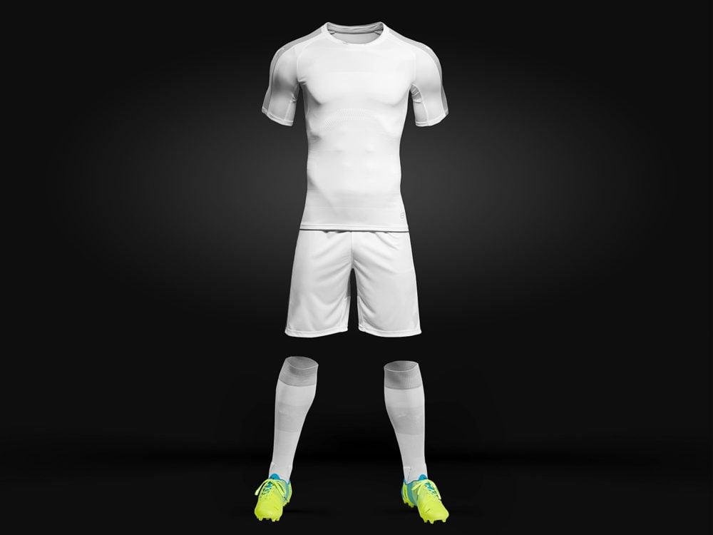 Soccer Kit Mockup Free