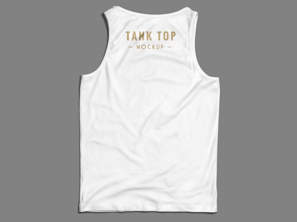Tank Top PSD Mock Up