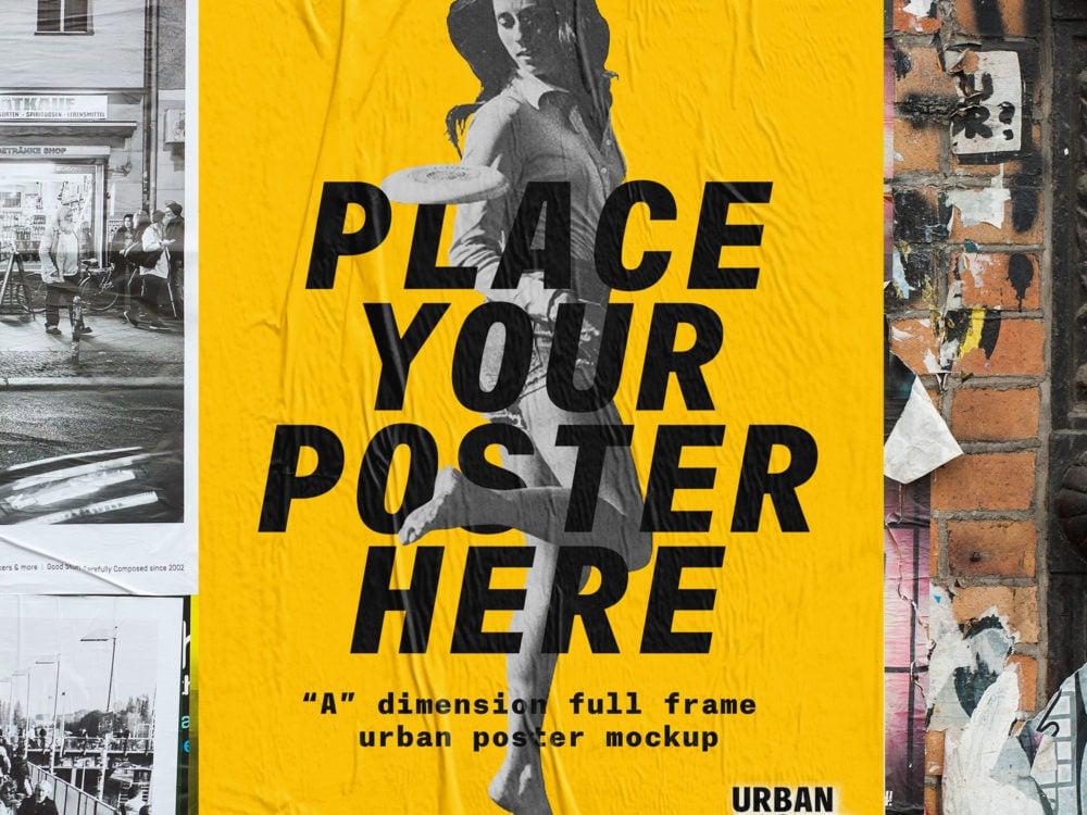 Urban Poster Mock Up