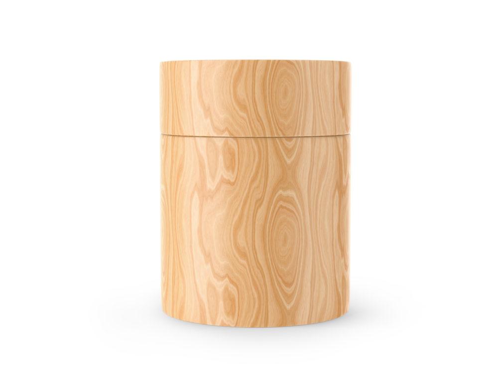 Wooden Tube Mockup