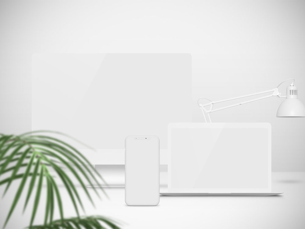 Apple Devices Mockups Free
