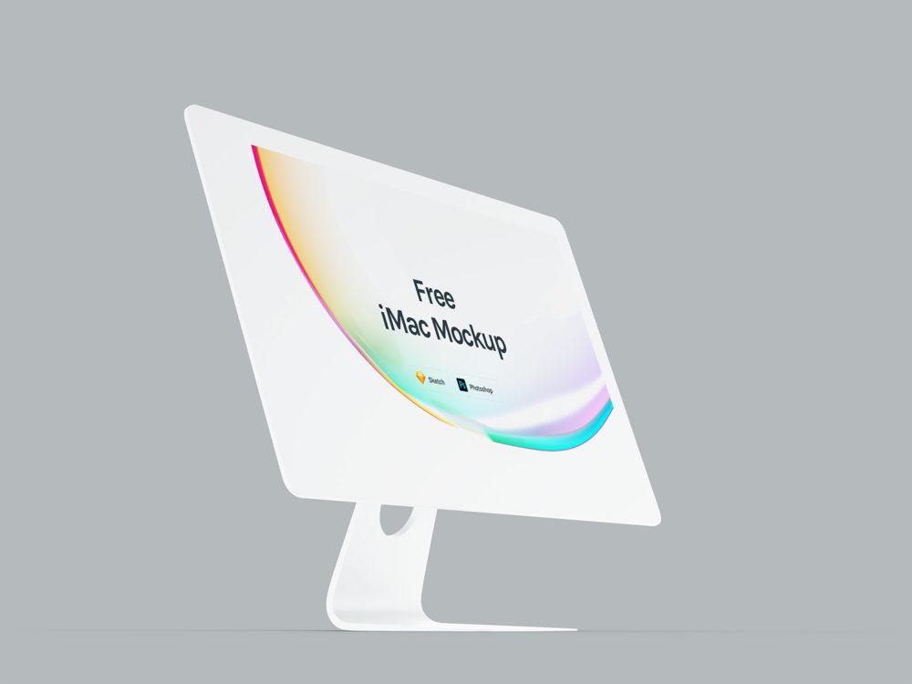Apple iMac Mockups Free
