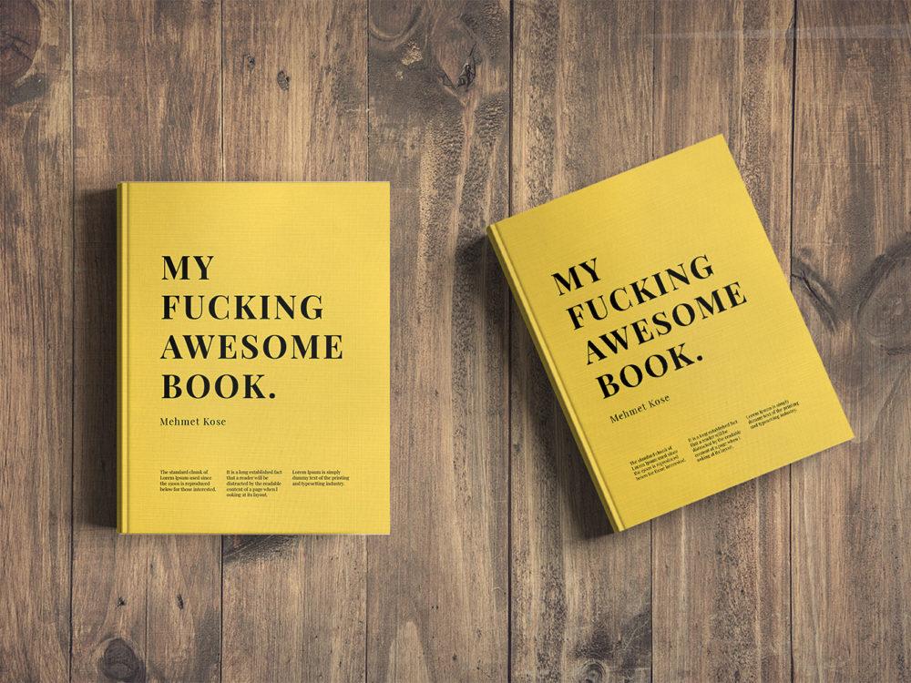Book Cover Mockup Free