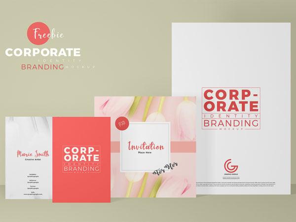 Corporate Identity Branding Mockup