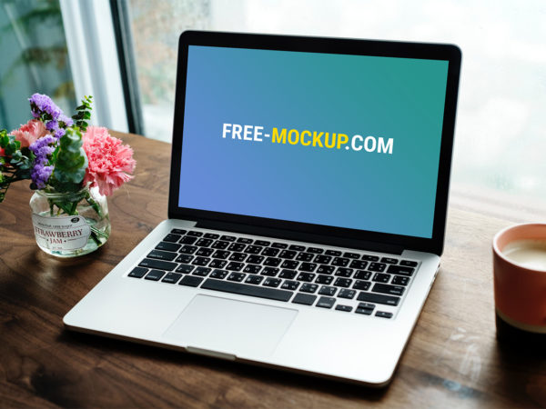 Laptop Website Mockup Free. MacBook Mockup