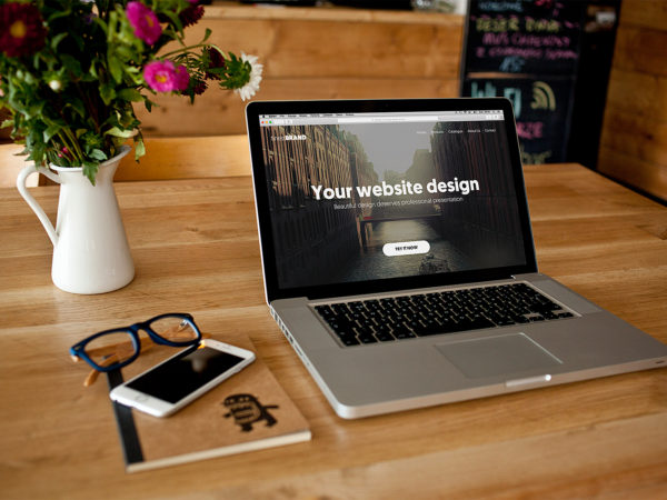 Laptop Mock Up Design Free PSD