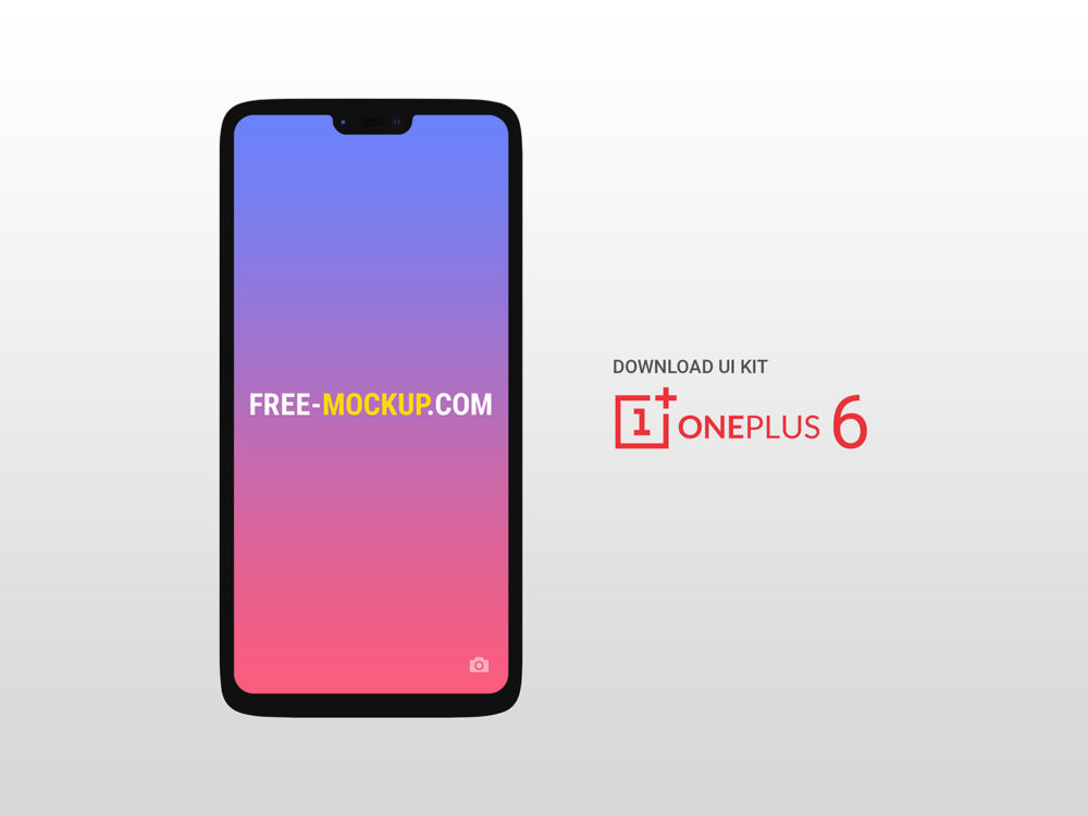 OnePlus 6 Mockup Free