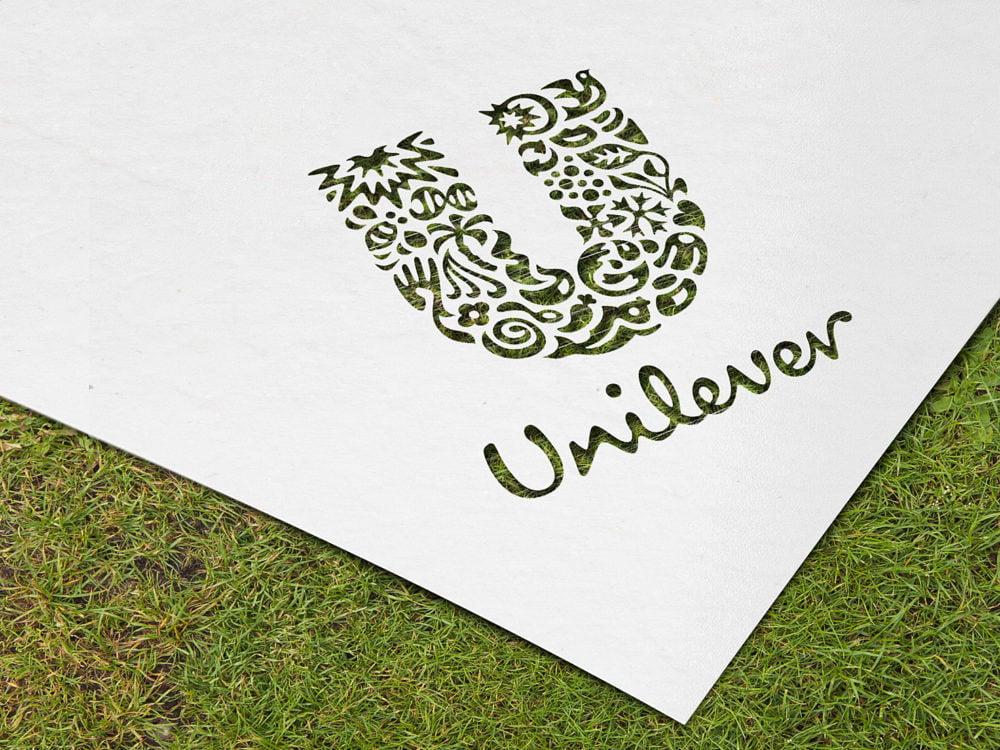 Paper Cutout Logo Mockup Free