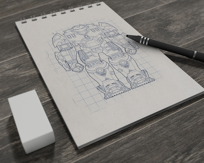 Sketchbook | Free Mockup