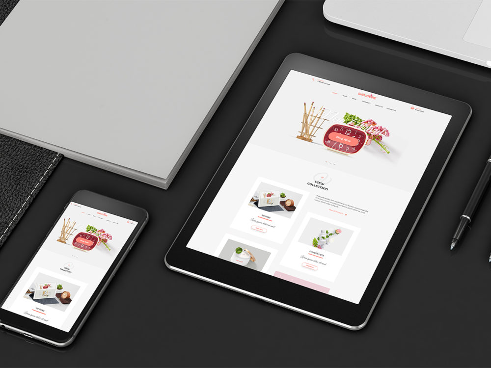 Tablet and Smartphone Mockup Free